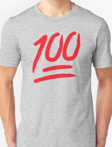 100 Emoji Funny T-Shirt
