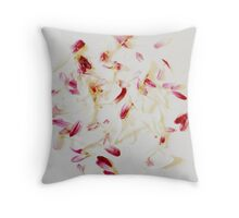 Scattered Petals Throw Pillow
