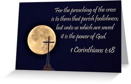 I Corinthians 1:18 - Daily Homework - Day 58 - July 4, 2012 by aprilann