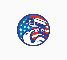 American Bald eagle Security Camera Unisex T-Shirt