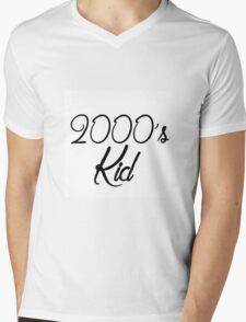 2000's kid Mens V-Neck T-Shirt