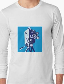 Vintage Film Movie Camera Retro Long Sleeve T-Shirt