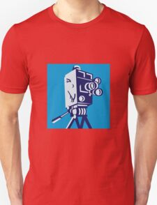 Vintage Film Movie Camera Retro Unisex T-Shirt