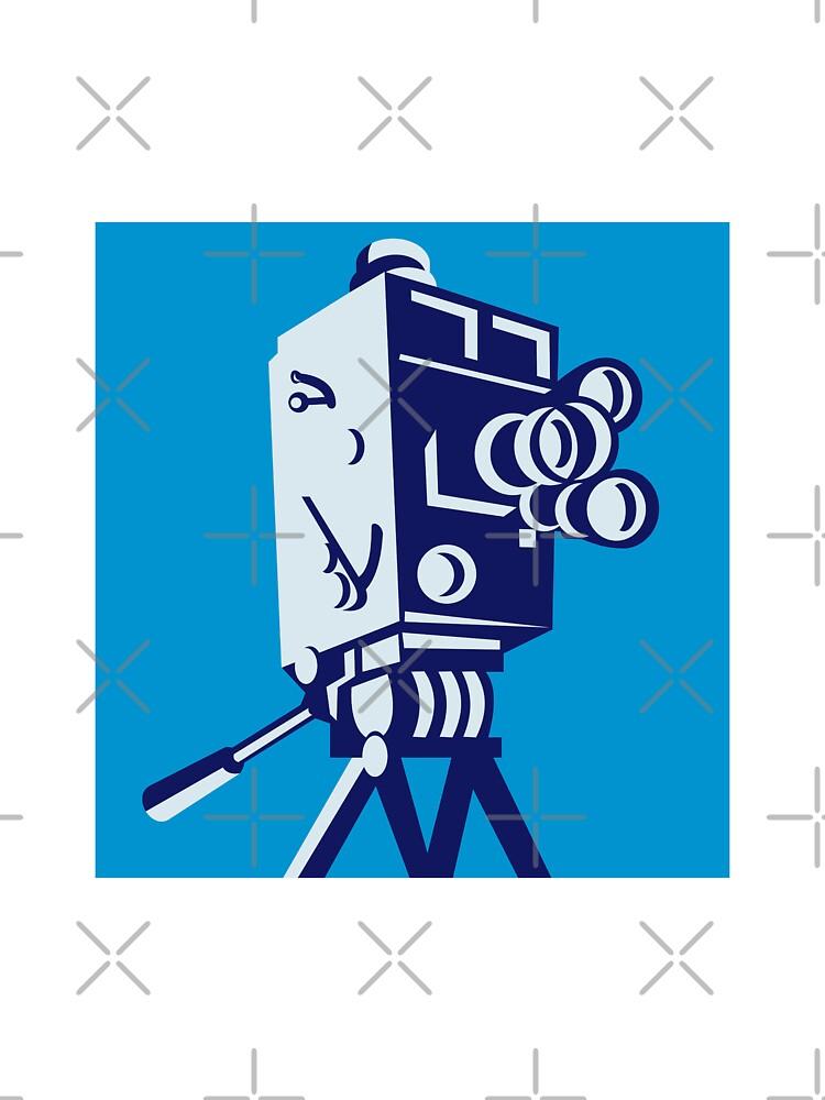Vintage Film Movie Camera Retro by patrimonio