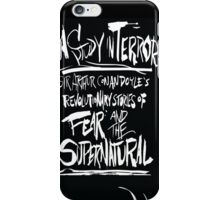 A Study In Terror iPhone Case/Skin