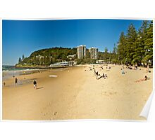 Greetings from Burleigh Heads Poster