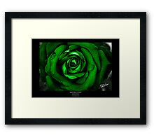 April Rose Green Framed Print