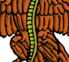 color mexican eagle Sticker