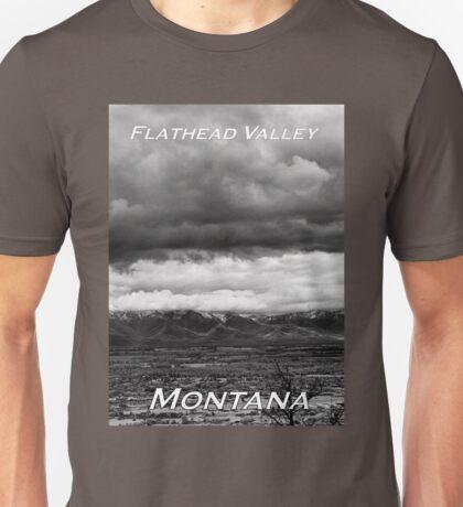 Flathead Valley, Montana  Unisex T-Shirt