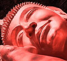 Sleeping Buddha in Red by KelseyGallery