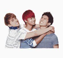 VIXX Trio - Ken, N, and Hyuk One Piece - Long Sleeve