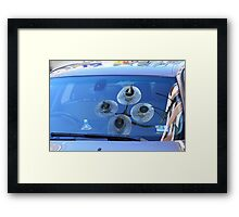 Quirky reflections Framed Print