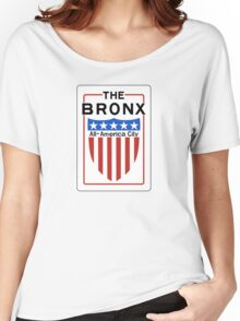 The Bronx All-America City Sign, New York Women's Relaxed Fit T-Shirt
