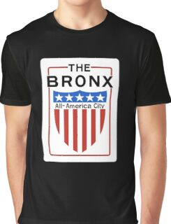 The Bronx All-America City Sign, New York Graphic T-Shirt