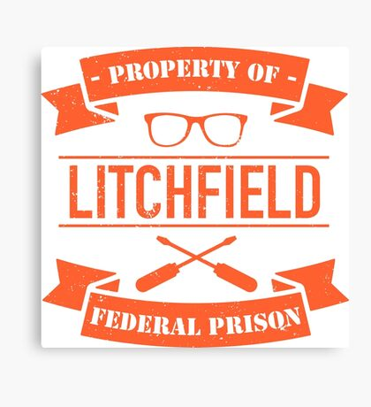 LITCHFIELD PRISON Canvas Print