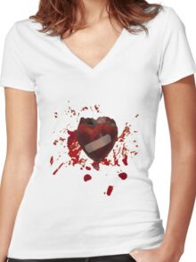 It will heal Women's Fitted V-Neck T-Shirt