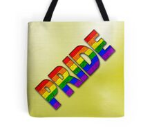 Rainbow PRIDE - Yellow Tote Bag