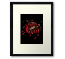 It will heal # 2 (Heart on heart) Framed Print