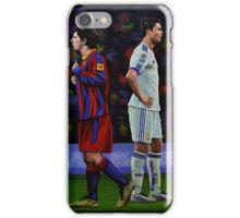 Lionel Messi and Cristiano Ronaldo iPhone Case/Skin