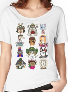 Dogs Around the World Women's Relaxed Fit T-Shirt