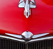 1933 Oldsmobile Hood Ornament and Grille by Jill Reger