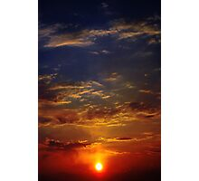 Scorched Sky Photographic Print