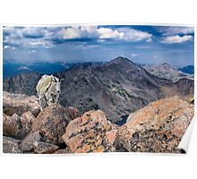 Wide Angle Wildlife - Mountain Goat (22mm) Poster