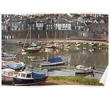 Evening In Mousehole Poster