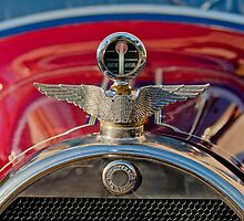 1915 Brewster-Knight Model 41 Landaulet Hood Ornament 2 by Jill Reger