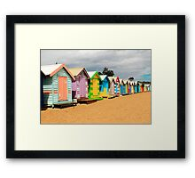 Lots of Colour Framed Print