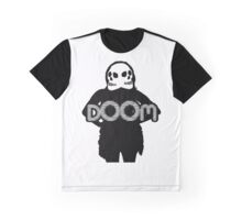 DOOMGIRL! in black Graphic T-Shirt