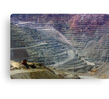 Santa Rita Mine ~ Grant Co., NM Canvas Print