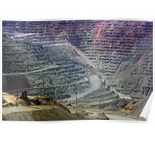 Santa Rita Mine ~ Grant Co., NM Poster