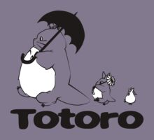 Totoro Walking by ihateleeks