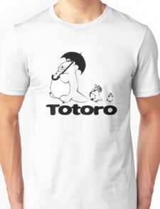 Totoro Walking Unisex T-Shirt