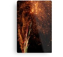 The Sparks All Fly Metal Print