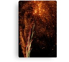 The Sparks All Fly Canvas Print