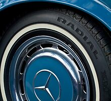 Mercedes-Benz Wheel Rim Emblem by Jill Reger