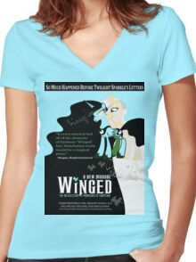 My Little Pony Wicked Poster Women's Fitted V-Neck T-Shirt