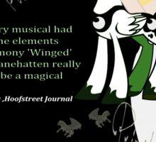 My Little Pony Wicked Poster Sticker