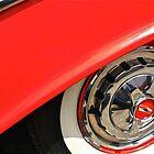 1955 Chevy Rim by Linda Bianic