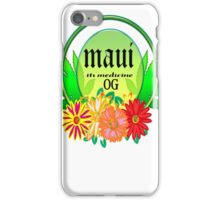 weed maui  gifts  iPhone Case/Skin