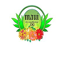 weed maui  gifts  Photographic Print