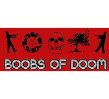 Boobs of DOOM: O-Cult Icons Photographic Print