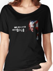 Never Mind Angel Here's Spike Women's Relaxed Fit T-Shirt
