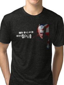 Never Mind Angel Here's Spike Tri-blend T-Shirt