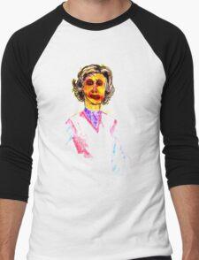 Knitted Lady #1 Men's Baseball ¾ T-Shirt