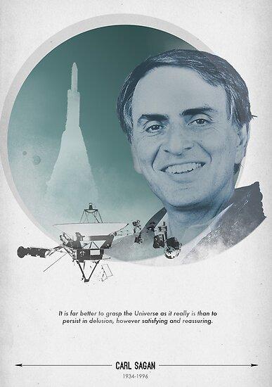 Carl Sagan Poster by cmiles