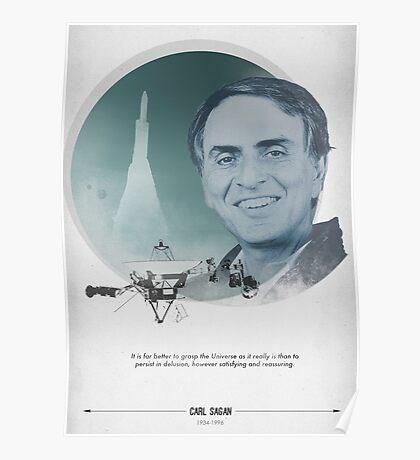 Carl Sagan Poster Poster