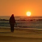 SILHOUETTE IN THE SUNRISE by Ekascam